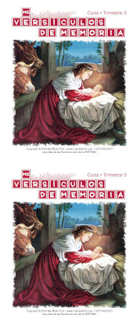 Spanish Beginners Memory Verse Cards — Set of 2