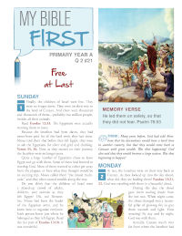 Primary Bible Lessons YAQ2