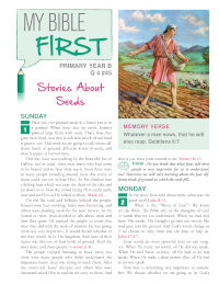 Primary Bible Lessons YBQ4