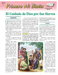 Spanish Primary Bible Lessons