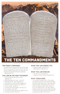 Poster: The Ten Commandments
